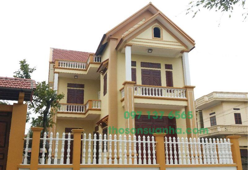Sơn tường nhà lại giúp ngôi nhà của bạn trông mới hơn.