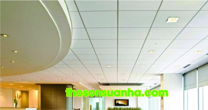 Trần thạch cao thả trang trí cho trần nhà