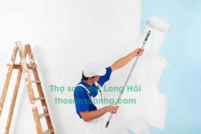 Thợ sơn nhà Long Hải
