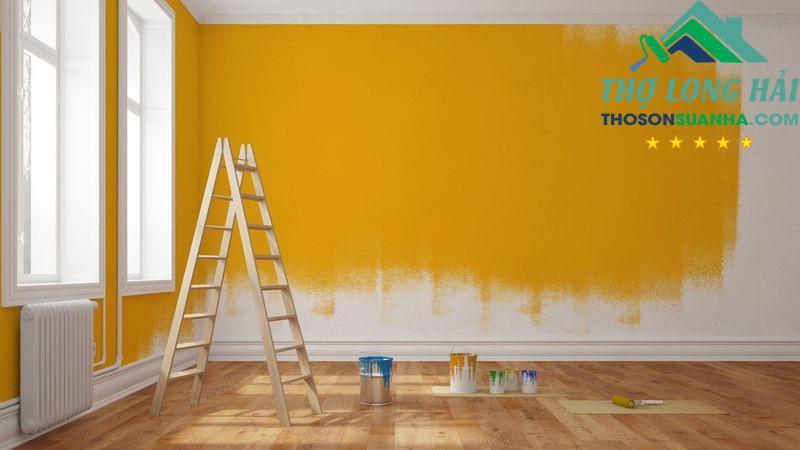 sơn nhà mùa mưa bão