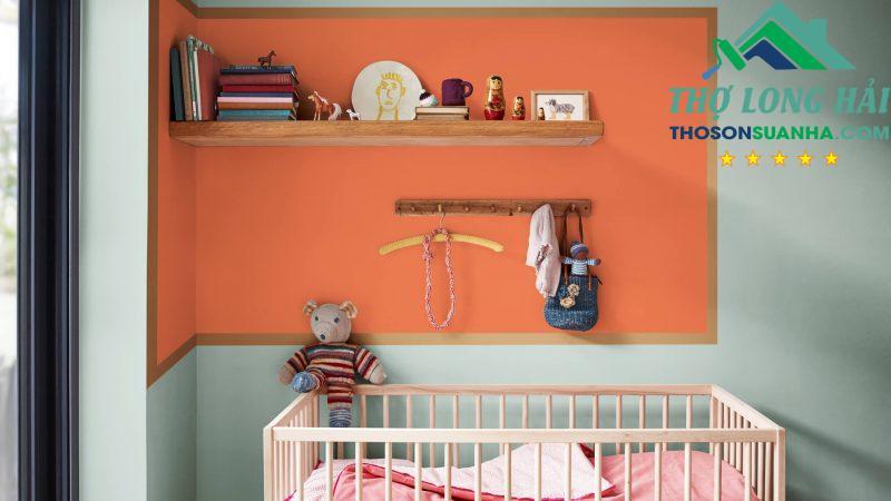 Một không gian ấm cúng giúp lan tỏa sự yêu thương đến bé mỗi ngày.