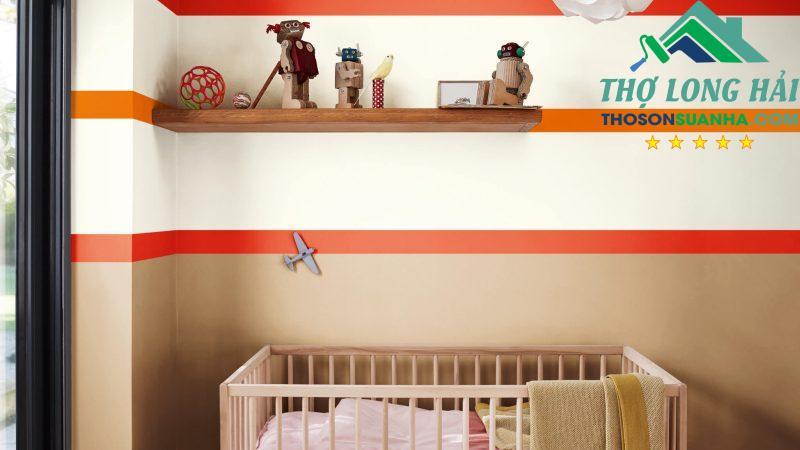 Một không gian sống động với sự kết hợp hoàn hảo tạo một không gian vừa năng động vừa bình yên thoải mái cho bé.