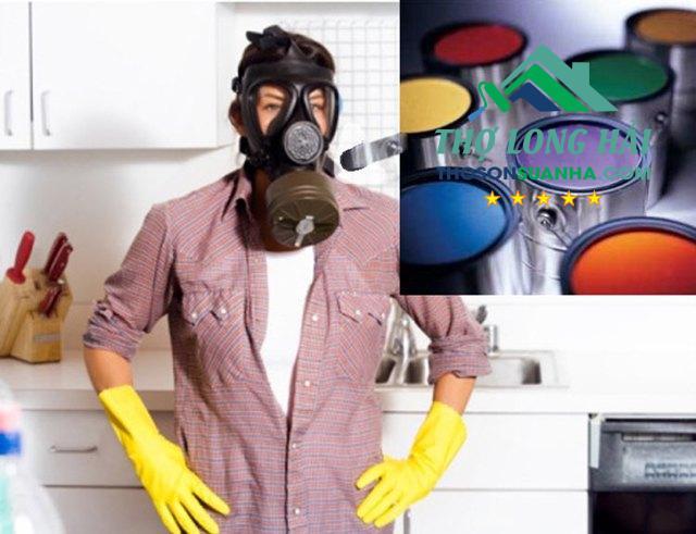 Khử mùi sơn công nghiệp