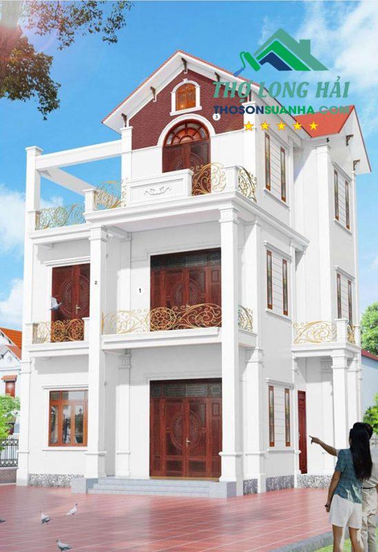 Bừng sáng ngôi nhà với White BS 9102. Bạn có thể kết hợp với các hành lang là kim loại sơn vàng họa tiết sang trọng để làm điển nhấn hơn cho ngôi nhà