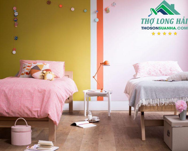 Một không gian phòng ngủ vui tươi, mới mẻ và sinh động dành cho bé.
