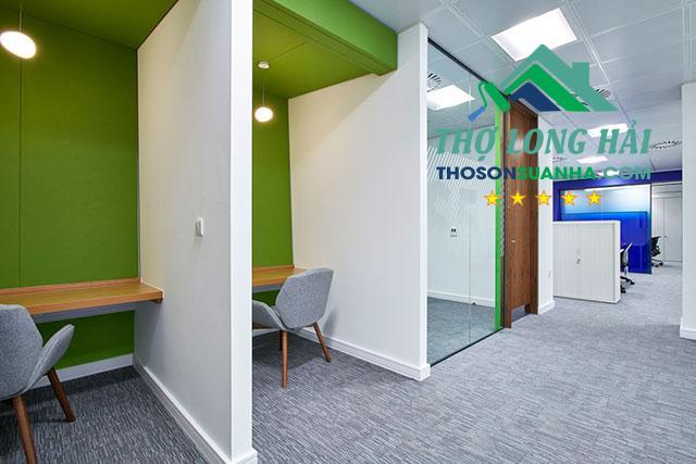 cách phối màu sơn văn phòng