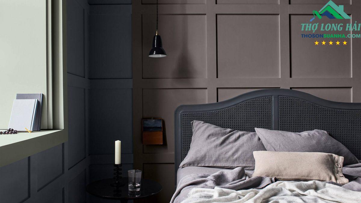 trang trí phòng ngủ bằng xanh ban mai