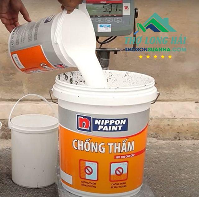 quy trình sơn chống thấm