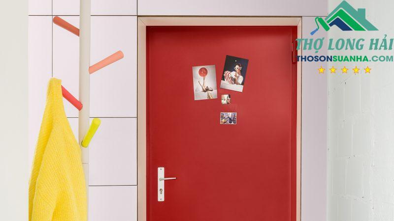 Tạo được phong cách mà không cần chi phí cao cho sơn toàn bộ tường phòng.